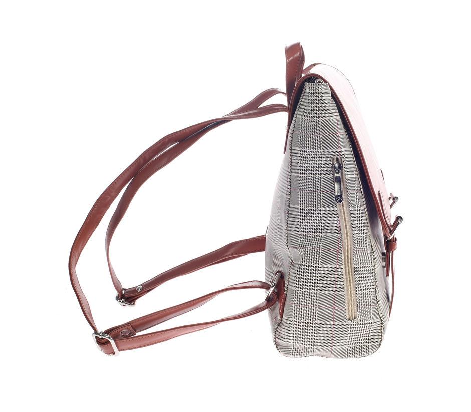 Khadim's Brown Backpack Shoulder Bag