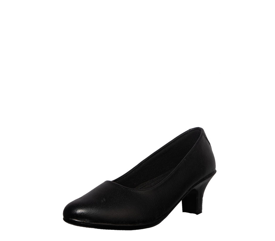 Khadim's Black Formal Ballerina Shoe