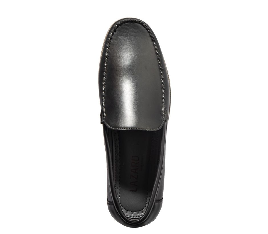 Lazard Men Black Casual Slip-On Shoe
