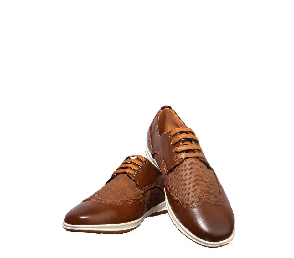 Lazard Men Brown Lifestyle Derby Shoe