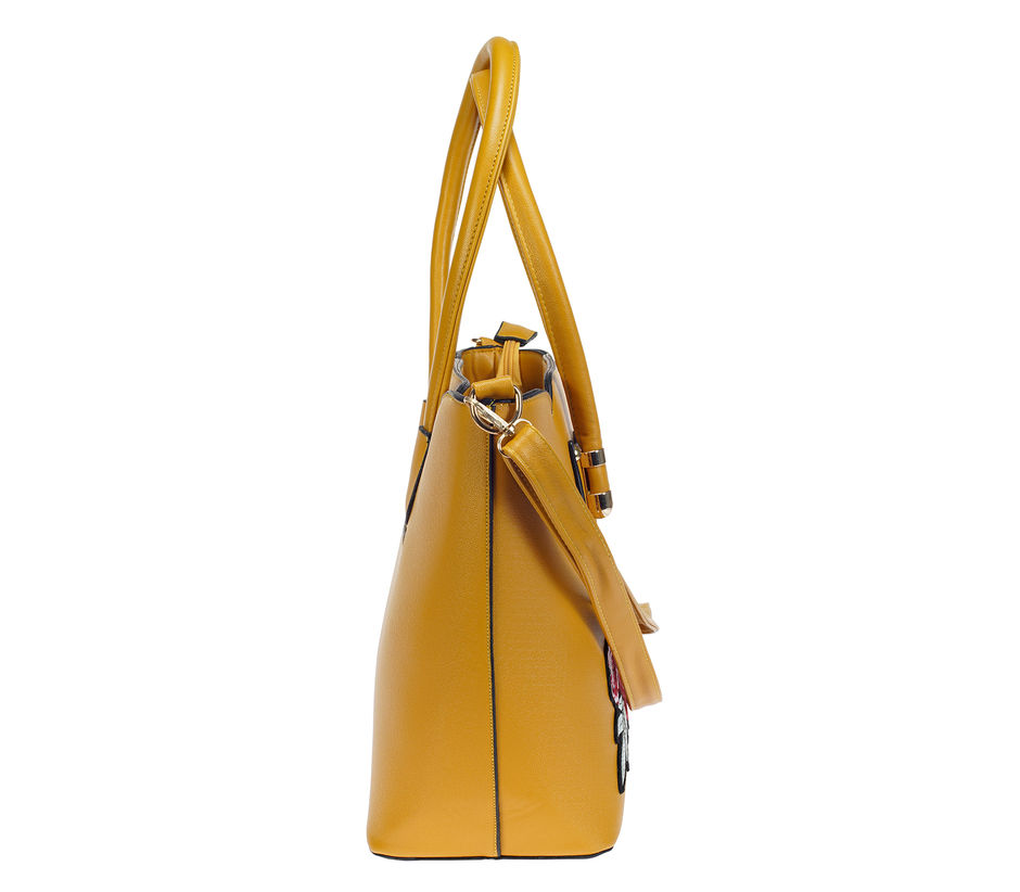 Khadim Women Yellow Big Shopper