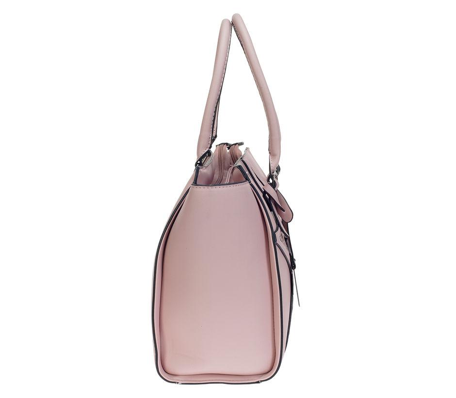 Khadim's Pink Tote Handbag