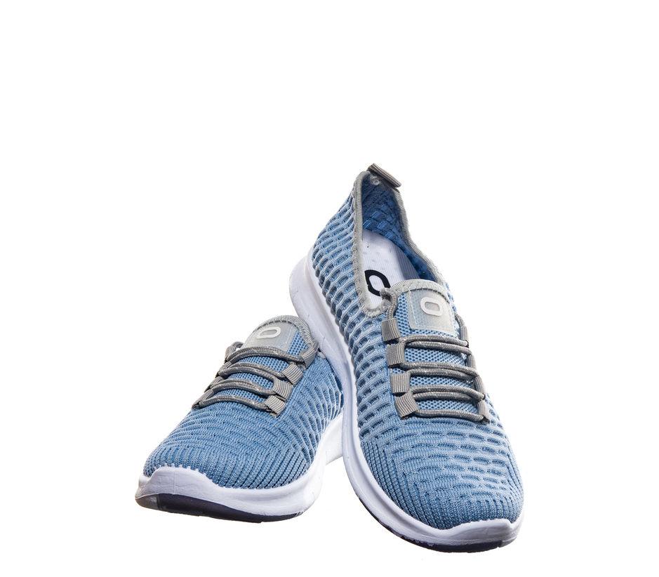 Pro Blue Casual Dress Sneakers