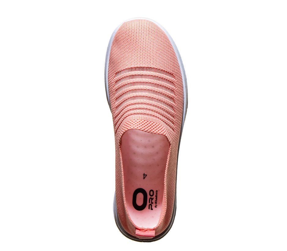Pro Peach Casual Slip-On Sneakers