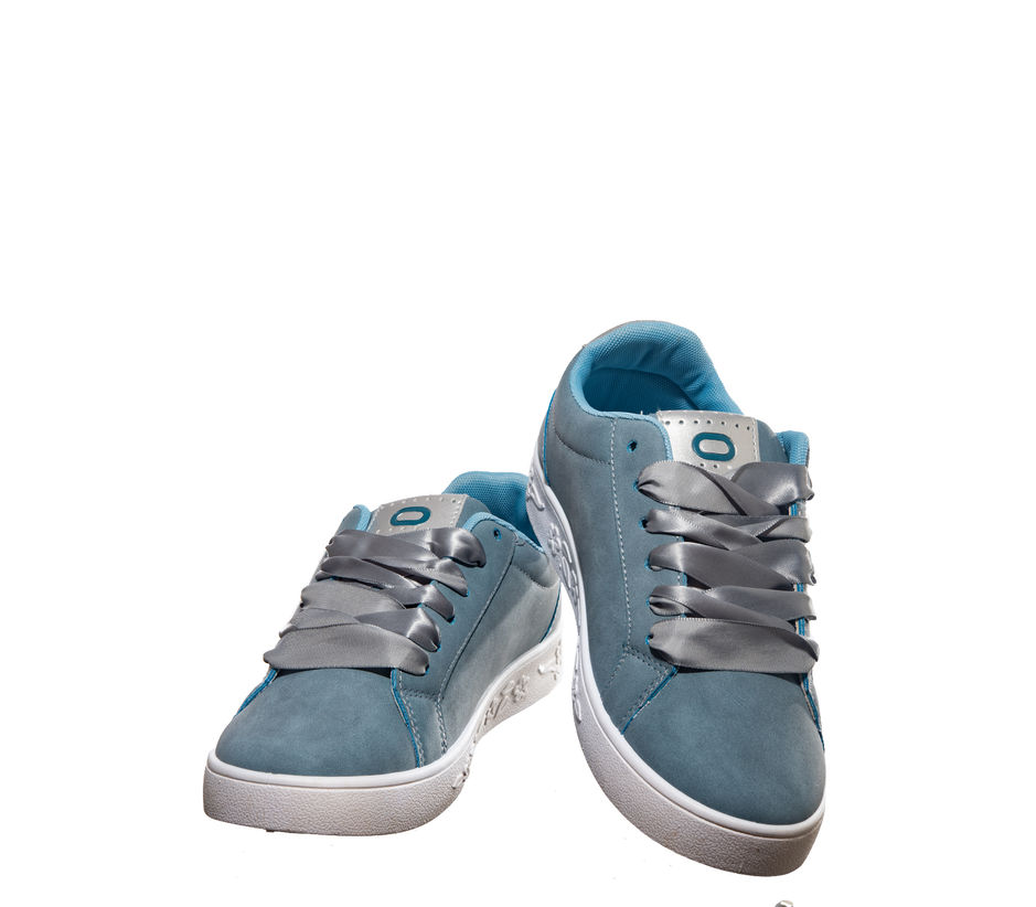 Pro Blue Lifestyle Dress Sneakers