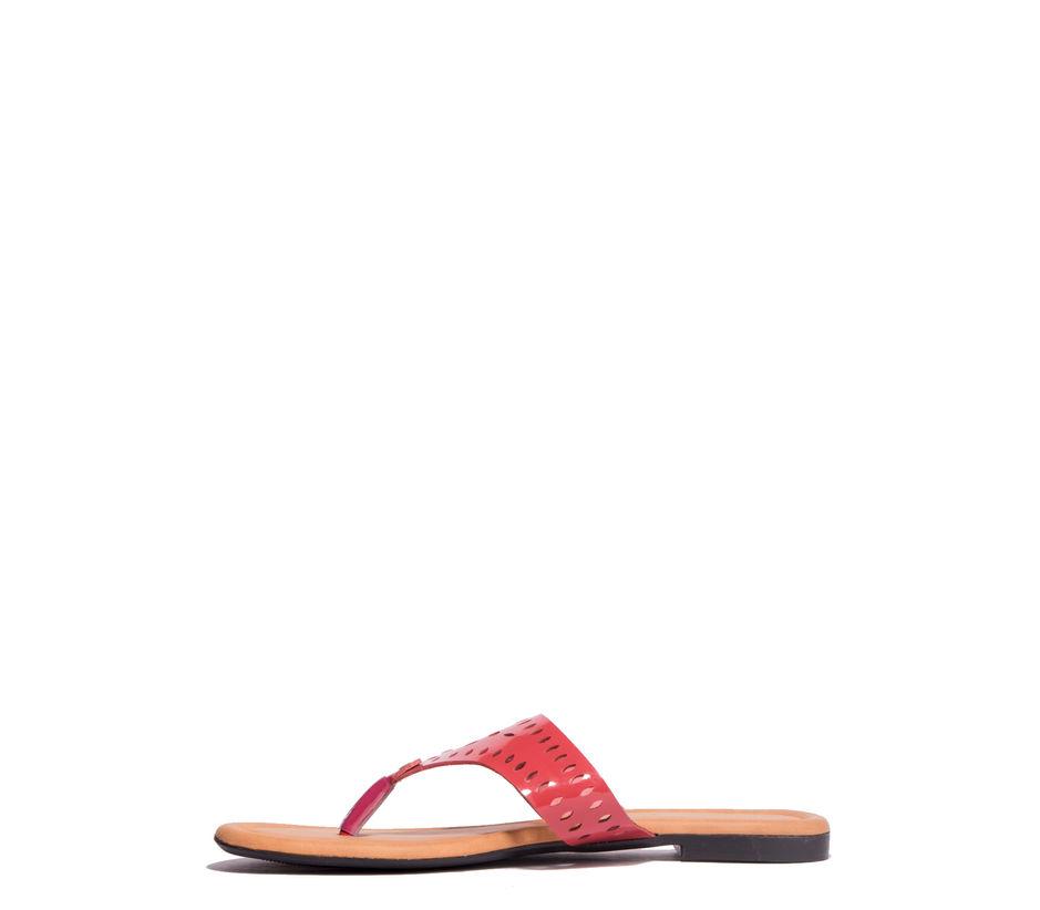 Khadim's Cherry Casual Flat Sandal