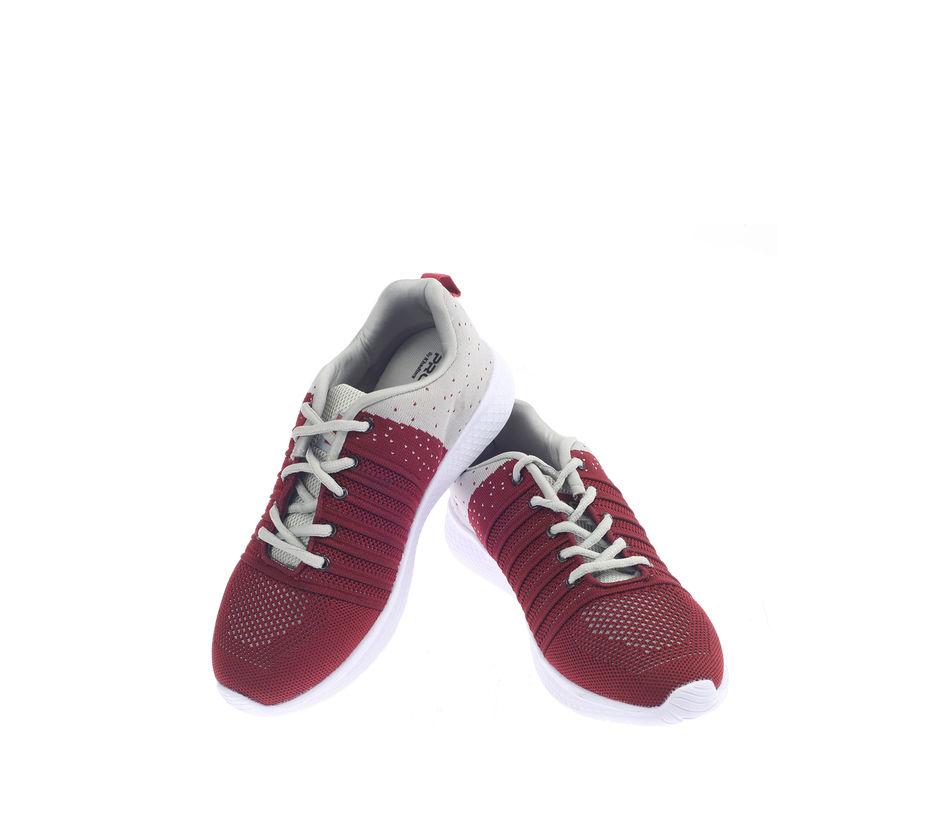 Pro Maroon Casual Dress Sneakers