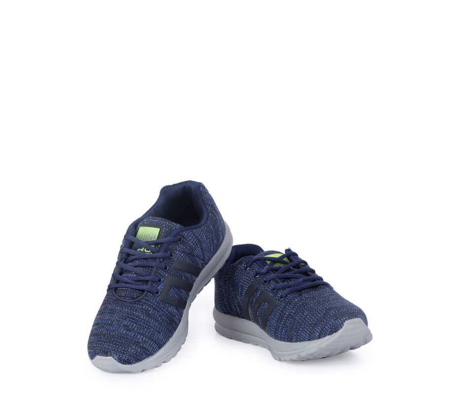 Pro Men Blue Sports Dress Sneakers