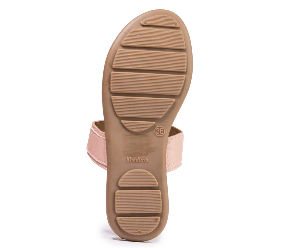 Khadim's Cleo Women Pink Lifestyle Flat Sandal