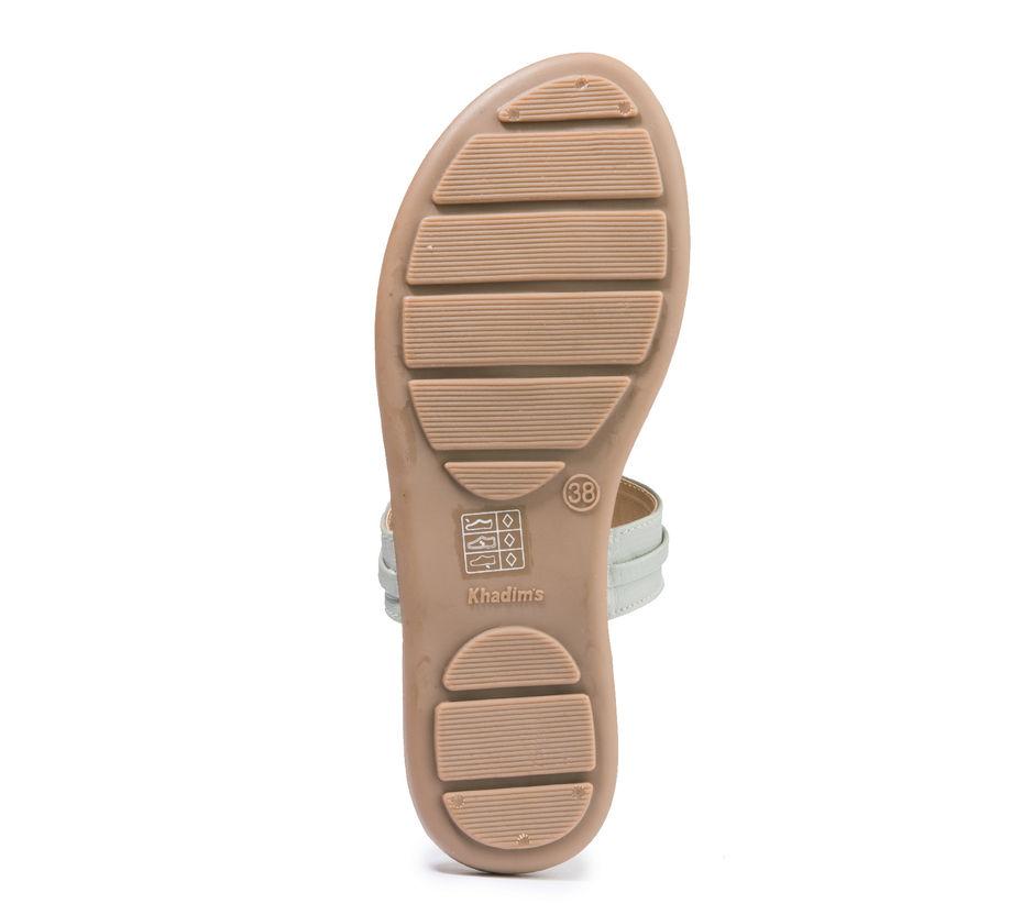 Khadim's Cleo Women Grey Casual Flat Sandal