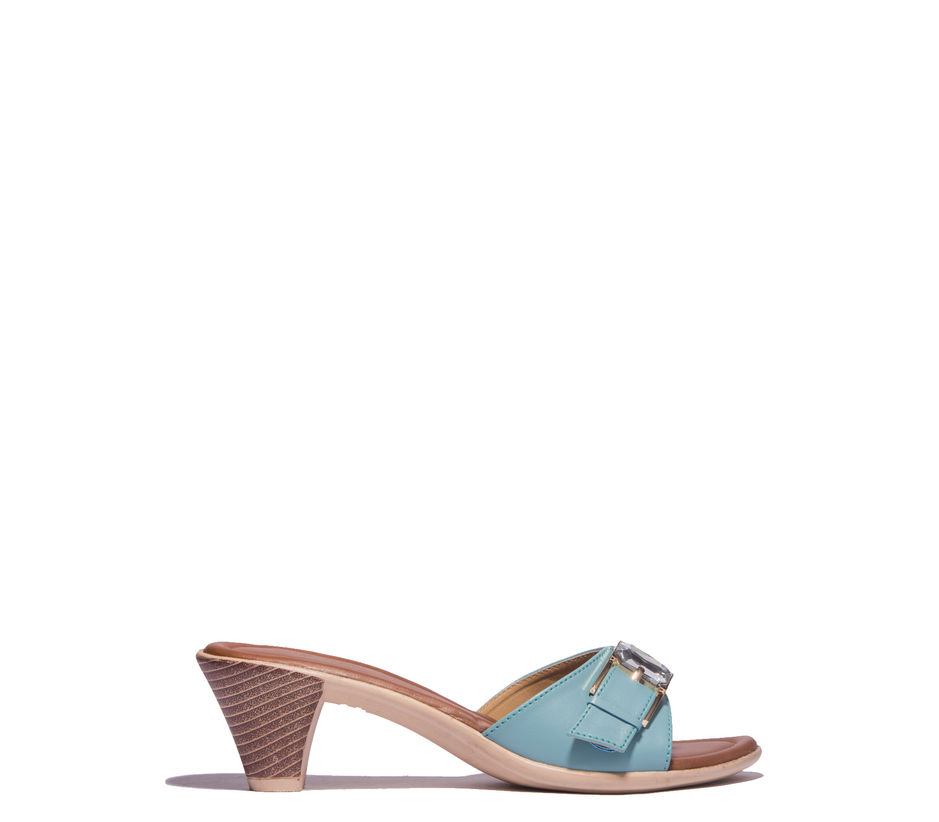 Cleo Blue Lifestyle Heel Sandal