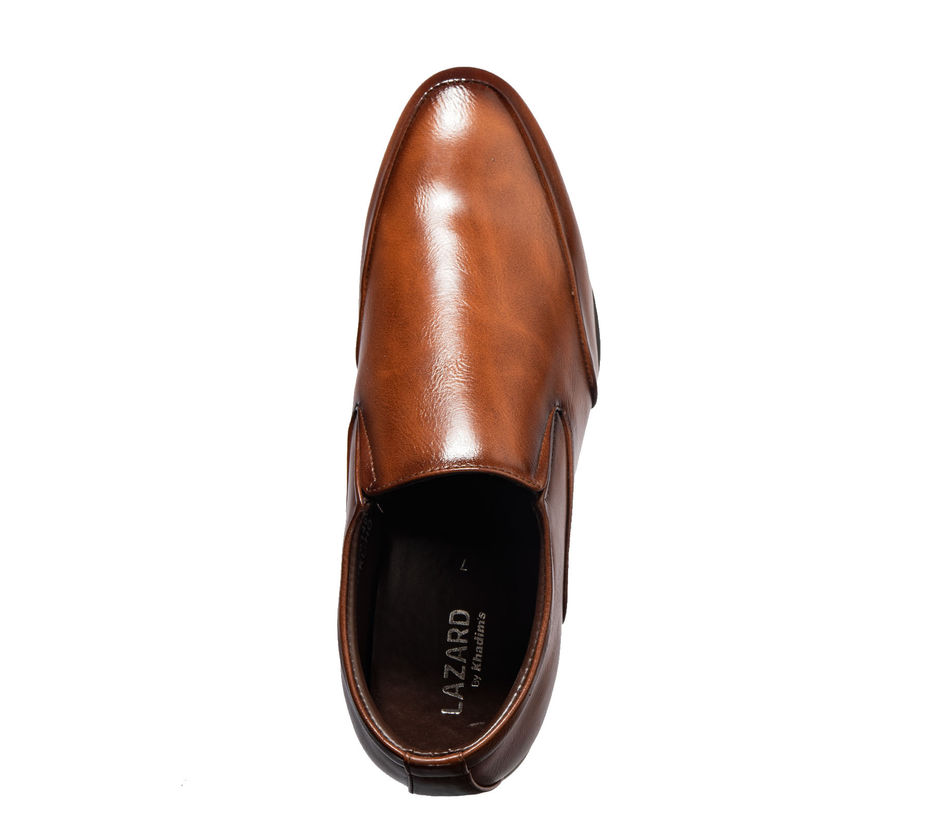 Lazard Men Brown Formal Slip-On Shoe