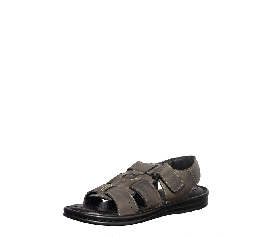 British Walkers Men Grey Casual Mule Sandal