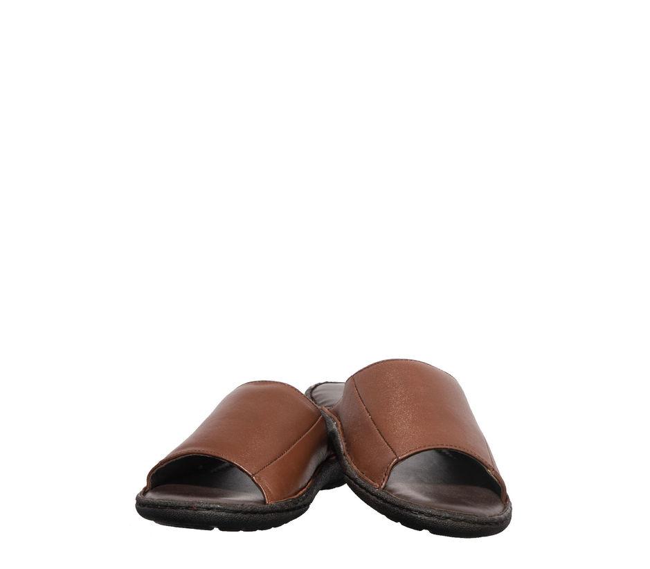 British Walkers Men Brown Casual Mule Sandal
