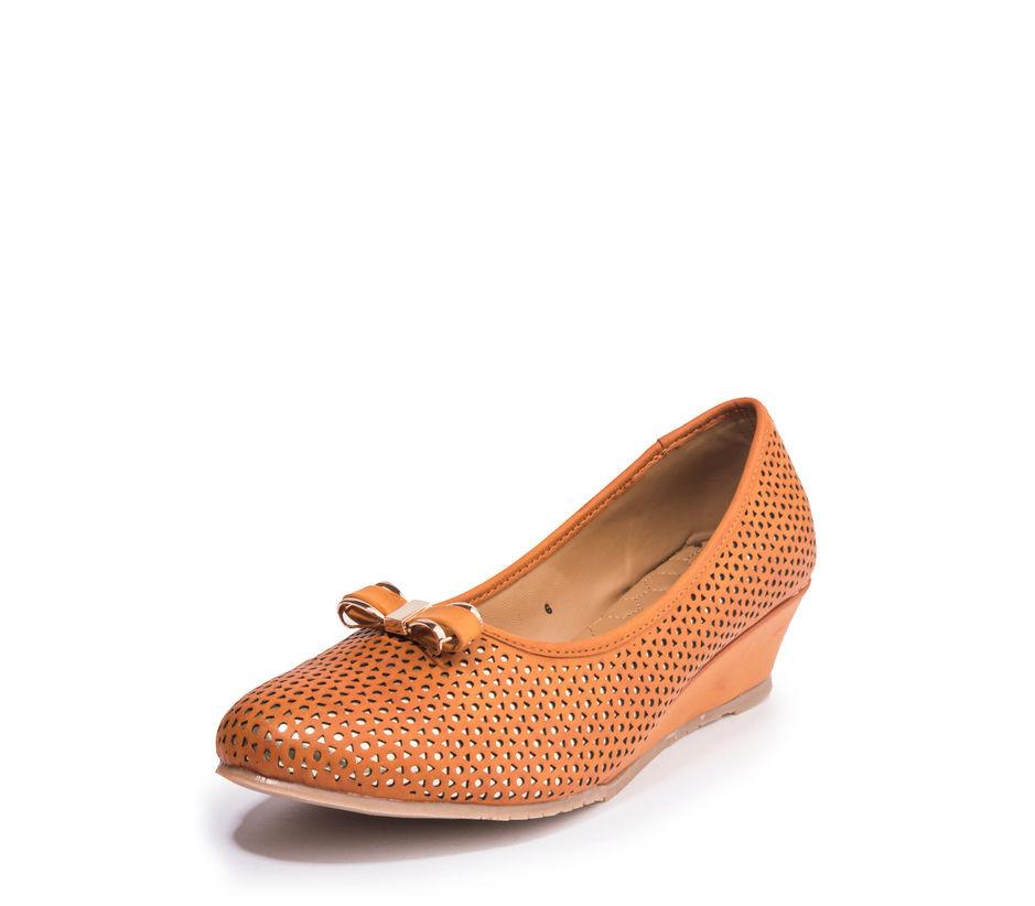 Khadim's Cleo Women Tan Casual Ballerina Shoe