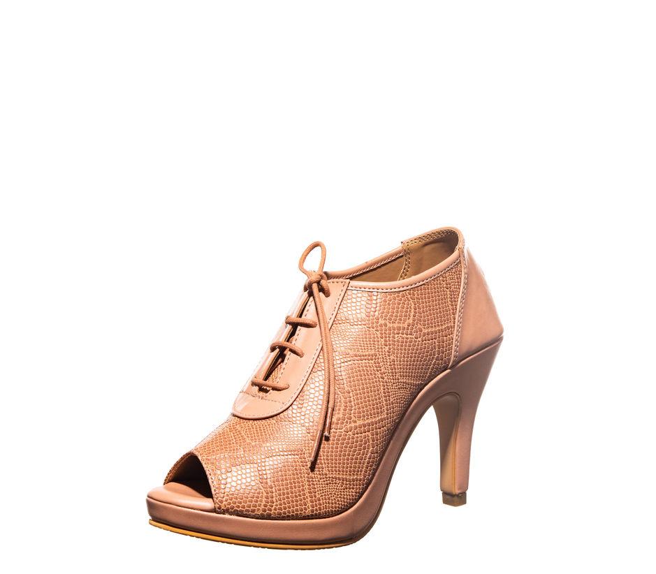 Cleo Brown Lifestyle Heel Sandal