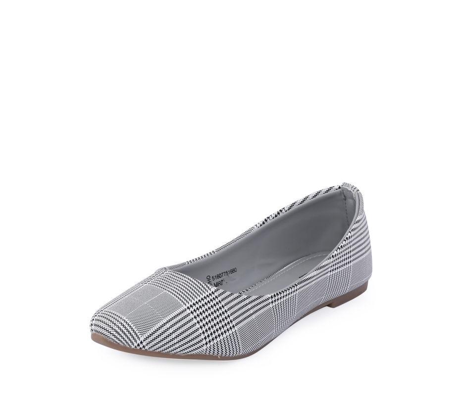 Cleo Black Casual Ballerina Sandal