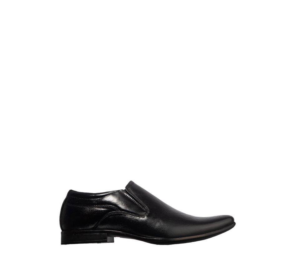 Lazard Men Black Formal Slip-On Shoe