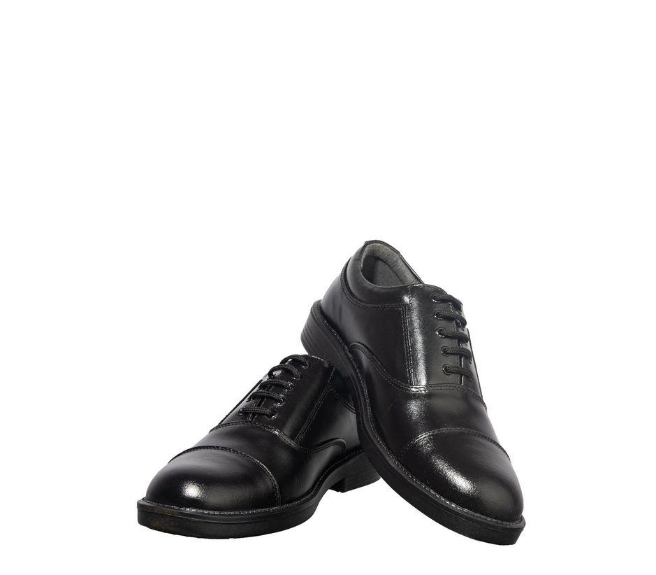 Khadim's Black Formal Oxford Shoe
