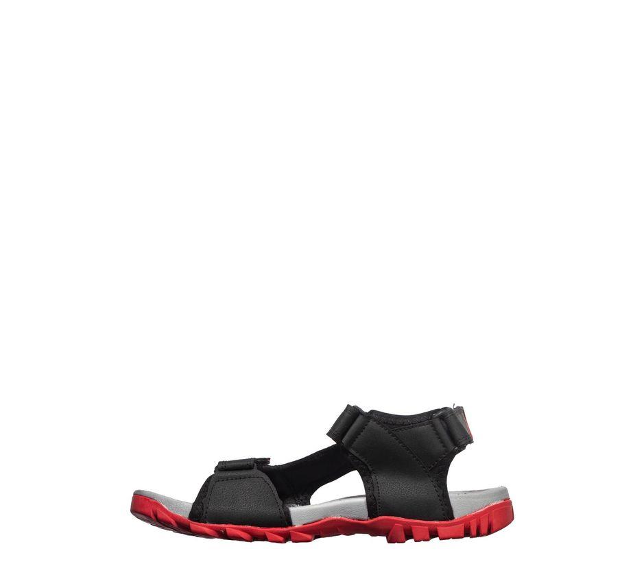 Pro Men Black Casual Floater Sandal