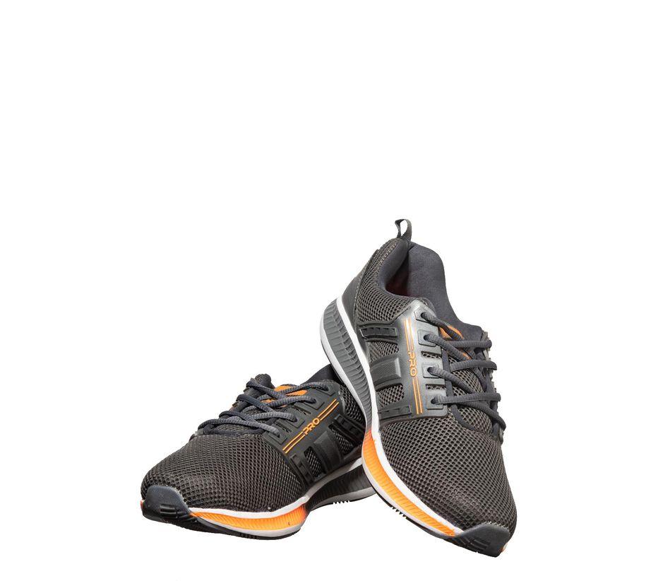Pro Men Grey Sports Activity Sneakers