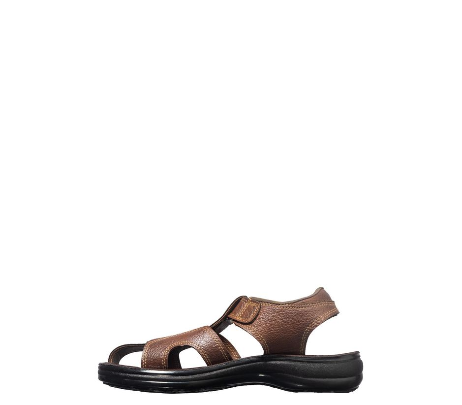 Khadim's Brown Casual Fisherman Sandal