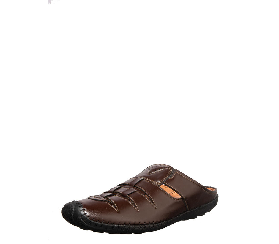 Lazard Men Brown Casual Clog Sandal