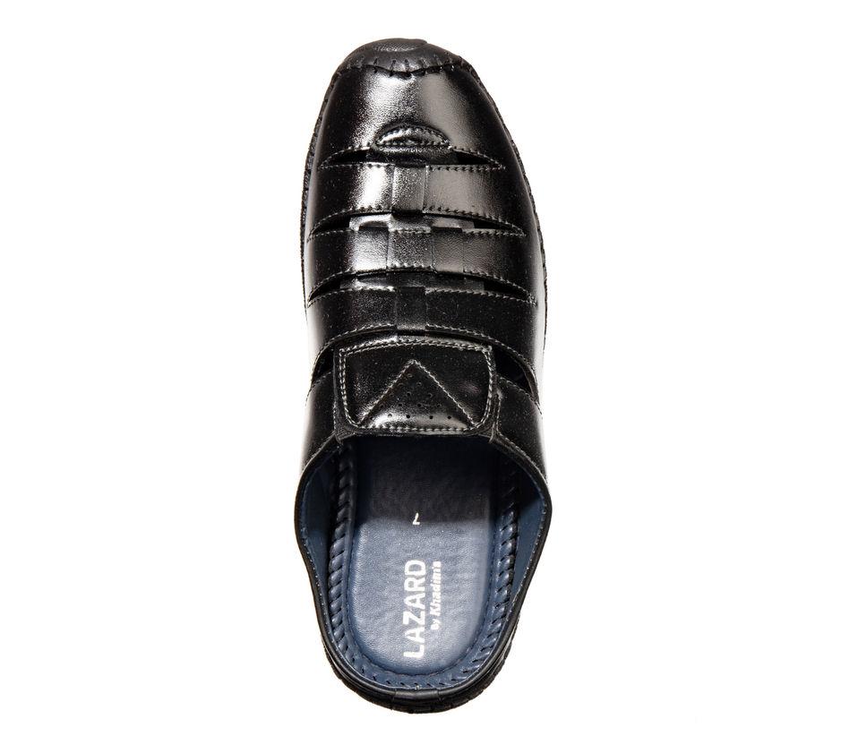 Lazard Black Casual Clog Sandal