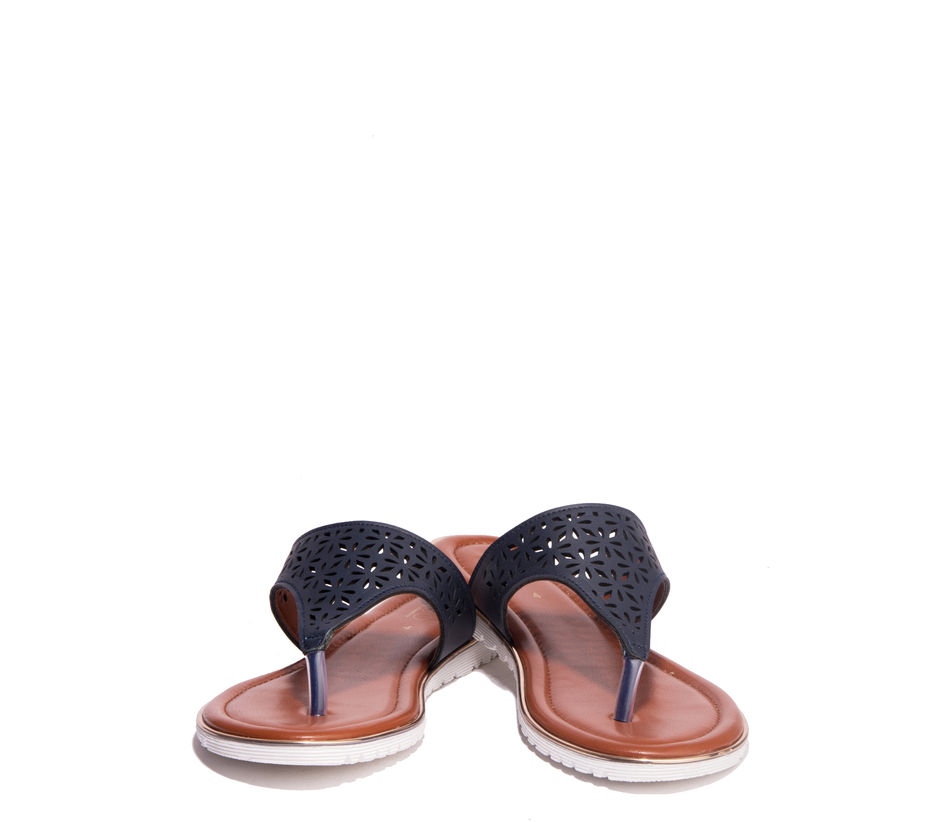 Cleo Navy Casual Flat Sandal