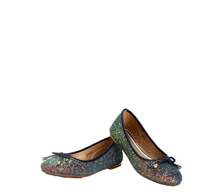 Khadim's Navy Casual Ballerina Shoe