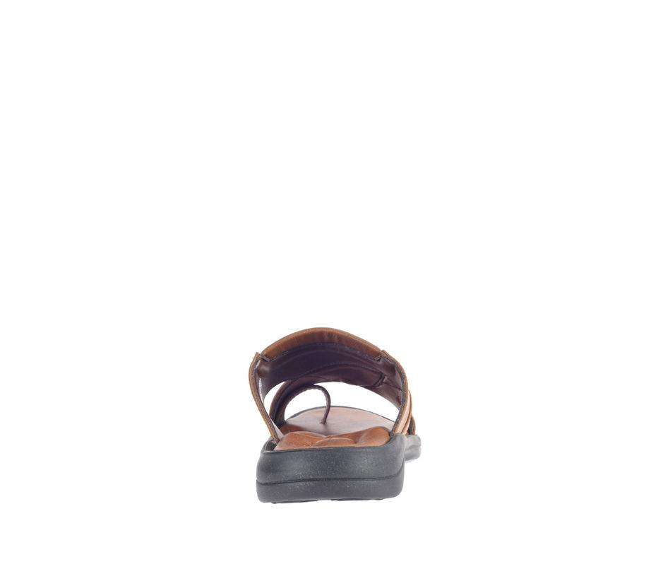 Khadim's Tan Casual Mule Sandal