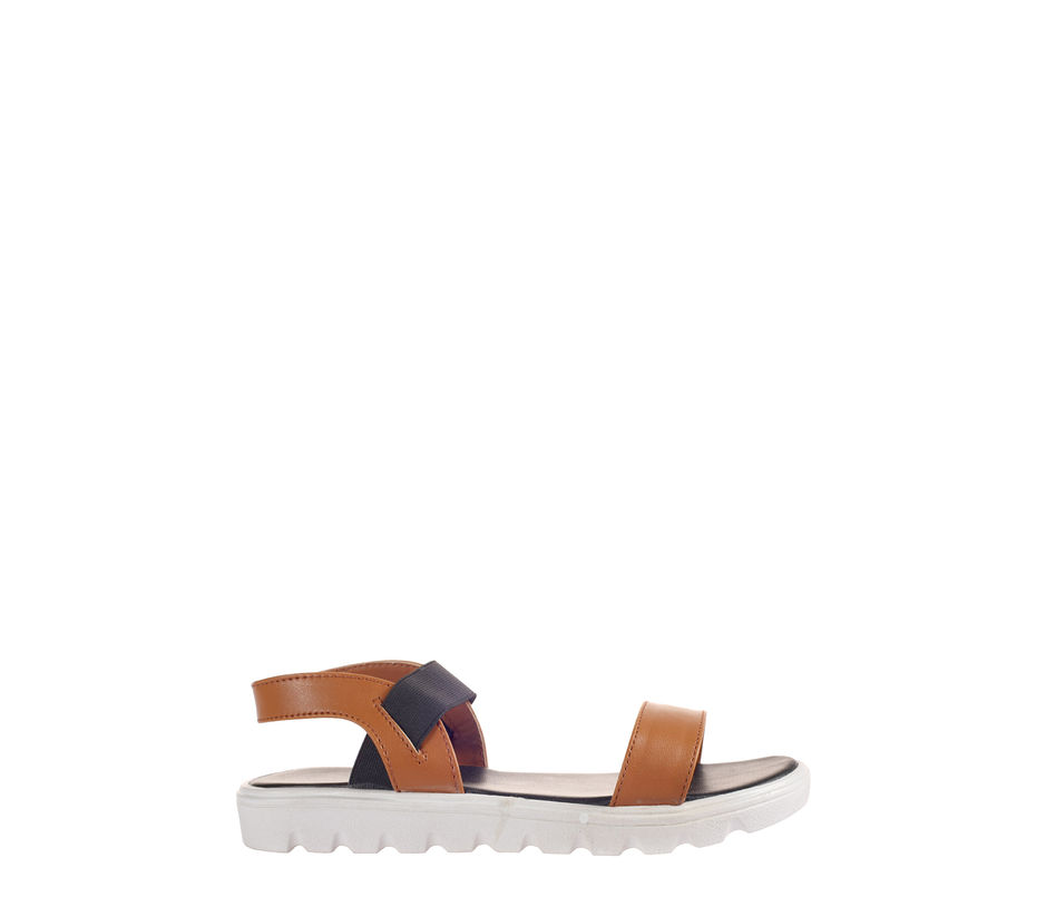 Cleo Brown Casual Flat Sandal