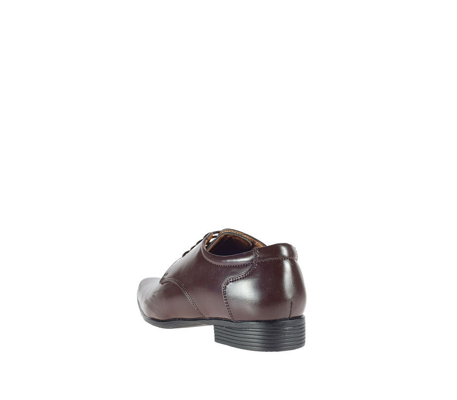 Khadim's Brown Formal Derby Shoe