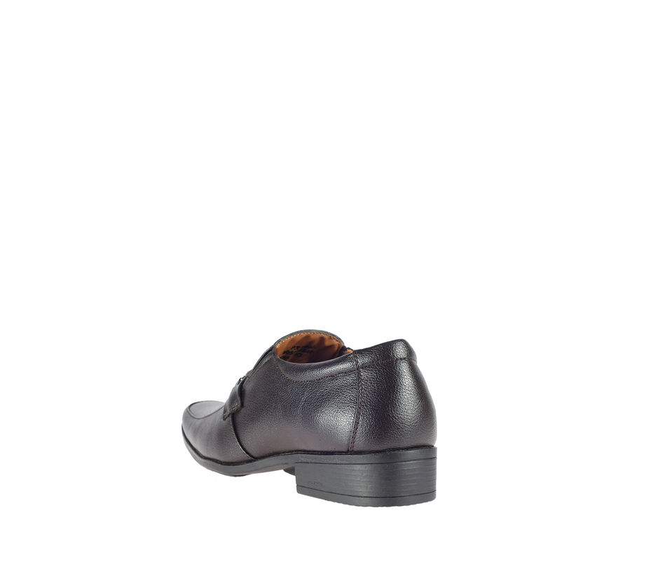 Khadim's Brown Semi-Formal Slip-On Shoe