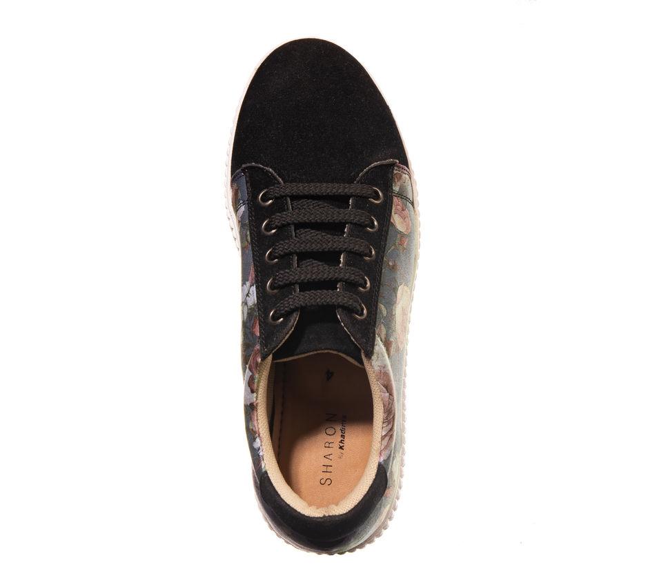 Khadim's Black Casual Dress Sneakers
