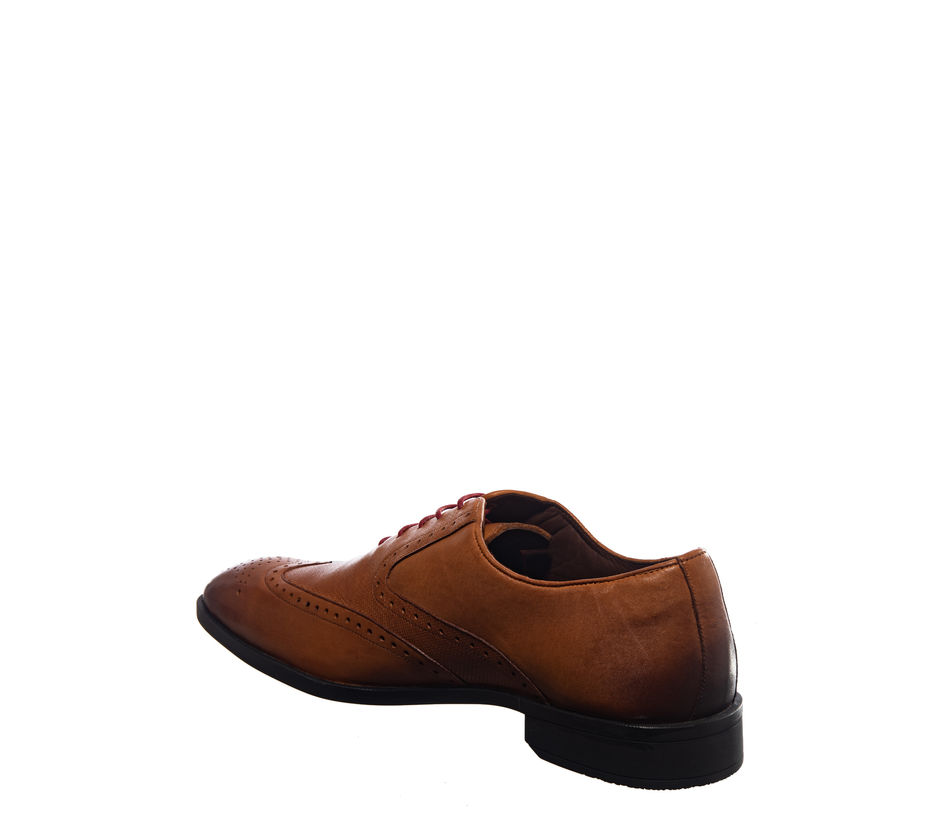 British Walkers Brown Formal Brogue Shoe