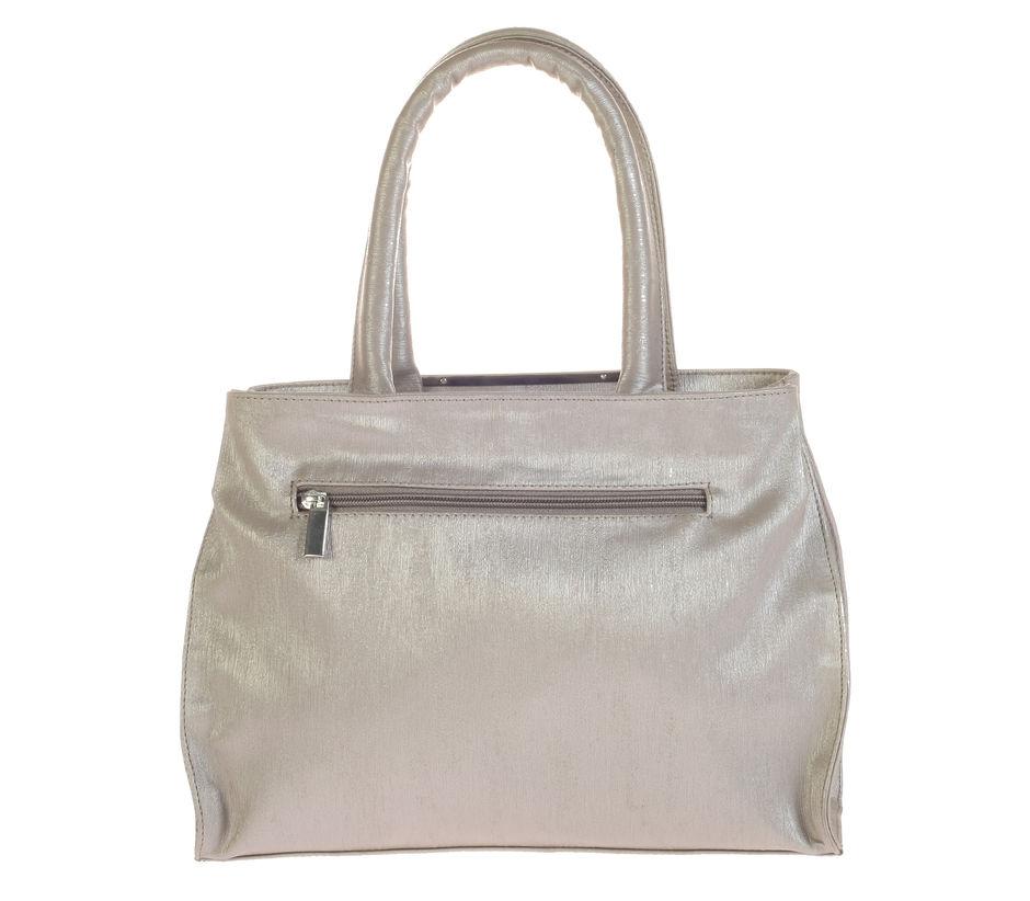Khadim's Grey Tote Handbag