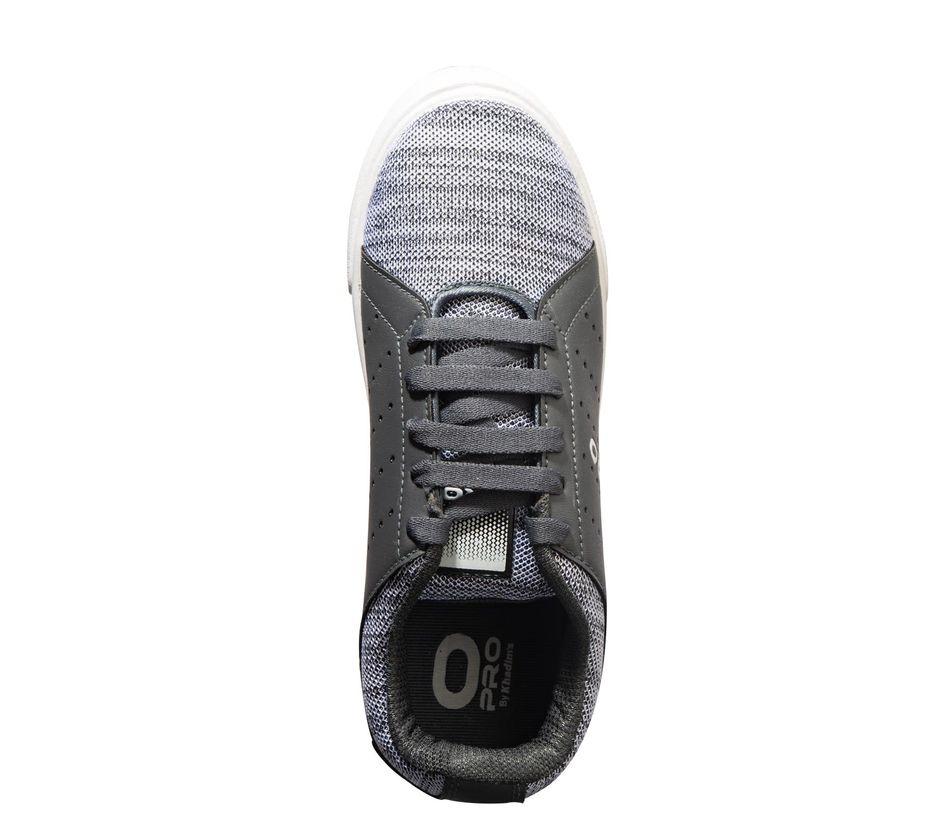 Pro Men Grey Casual Dress Sneakers