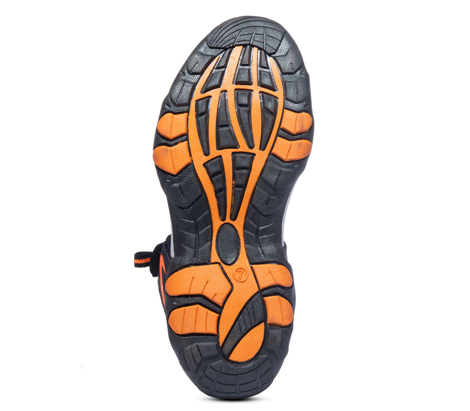 Pro Black Casual Floater Sandal