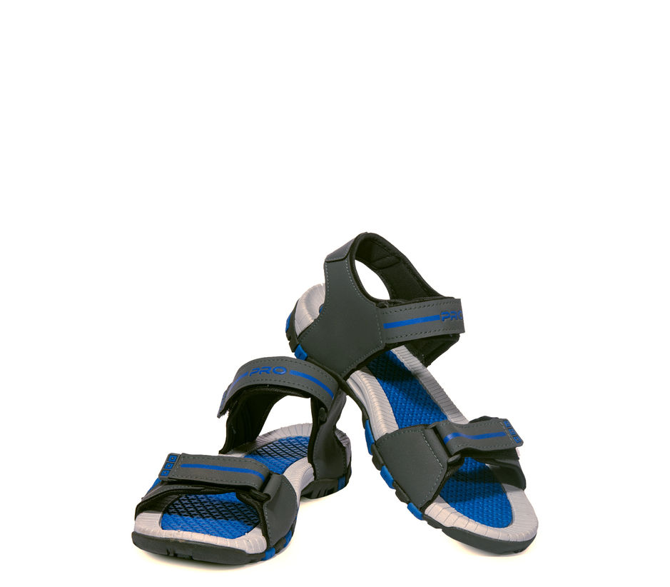 Pro Grey Casual Floater Sandal