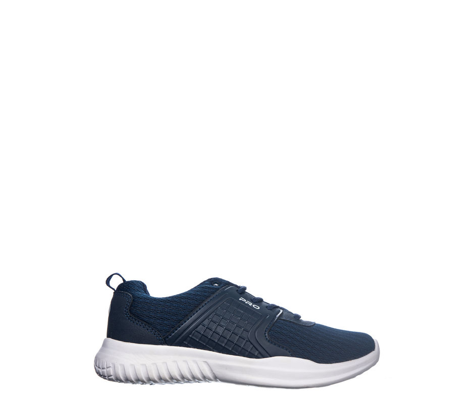 Pro Navy Casual Dress Sneakers