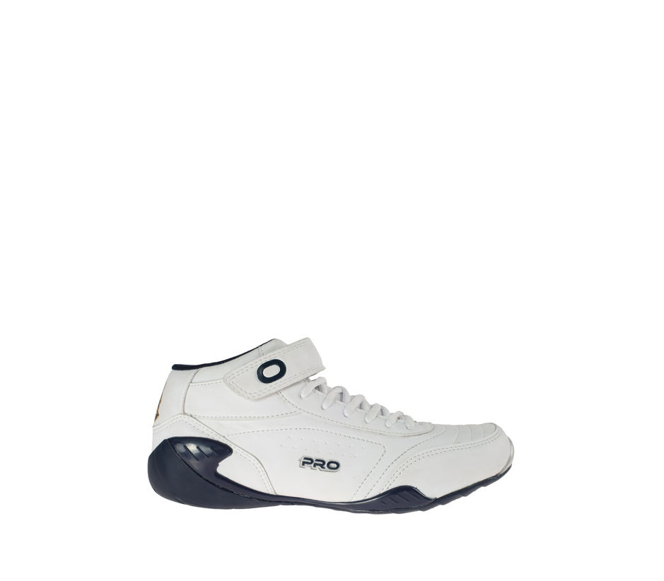 Pro White Lifestyle Dress Sneakers