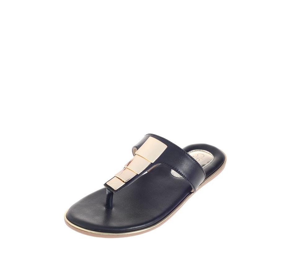 Cleo Black Casual Flat Sandal