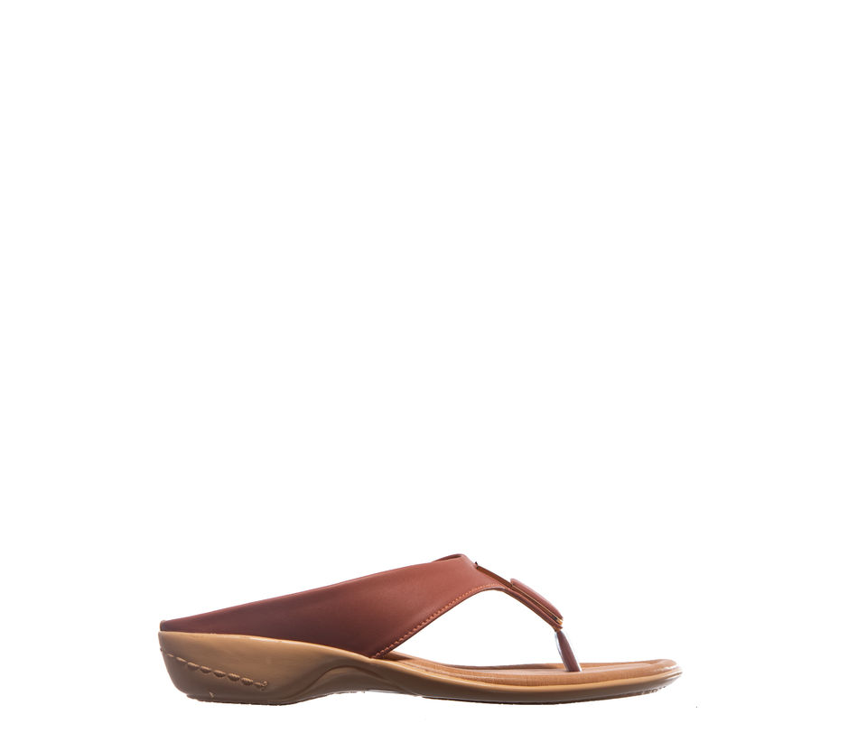 Khadim's Pink Casual Slip-On Sandal