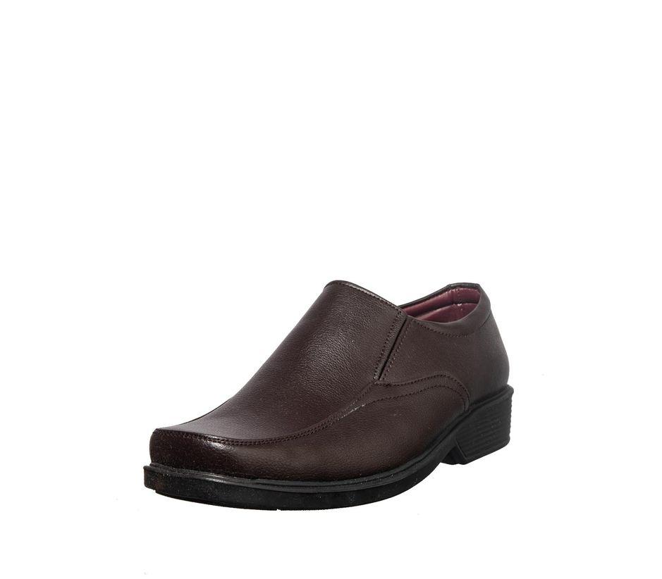 Khadim's Brown Formal Slip-On Shoe