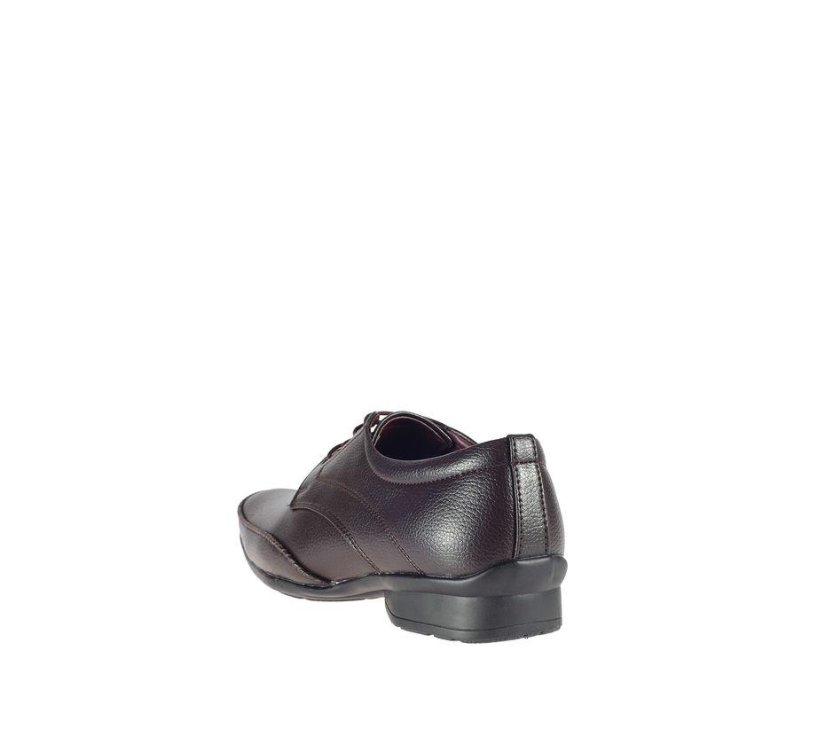 Khadim's Brown Formal Derby Shoe