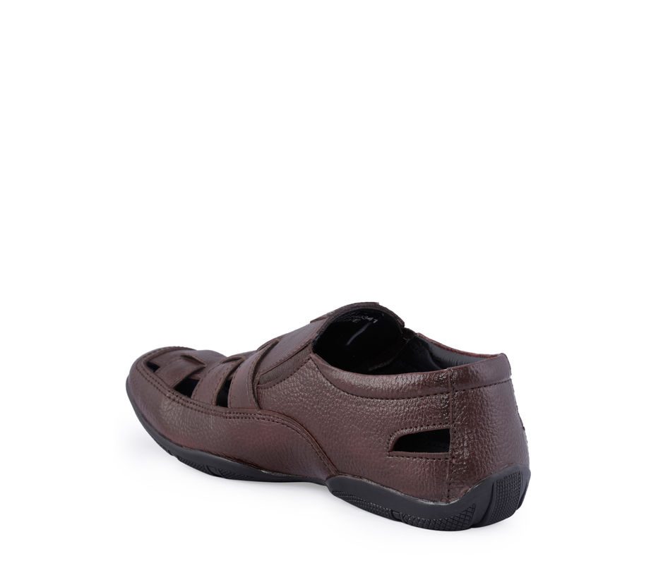 Lazard Men Brown Casual Slip-On Sandal