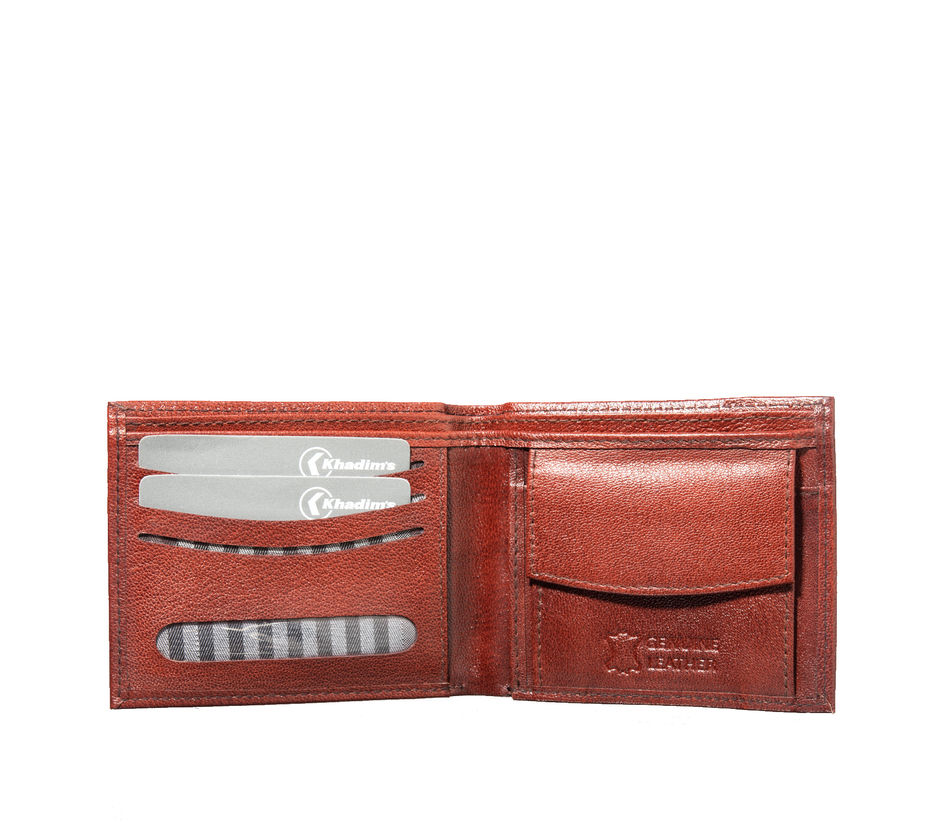 Khadim's Men Brown Single-fold Wallet