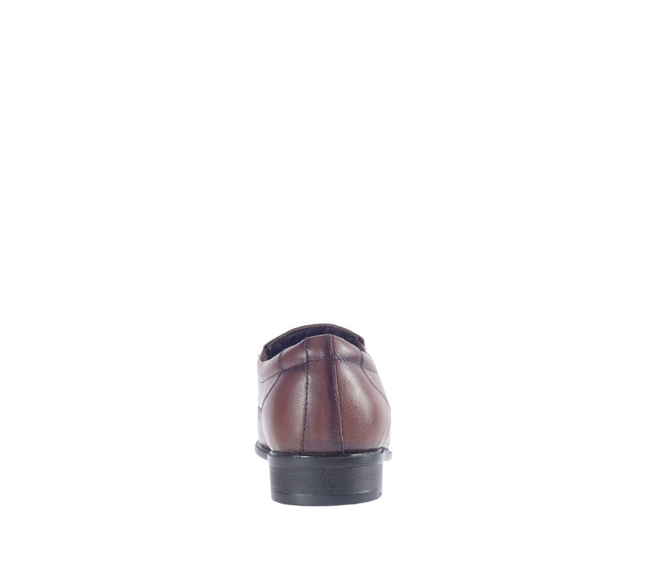 Lazard Brown Formal Slip-On Shoe