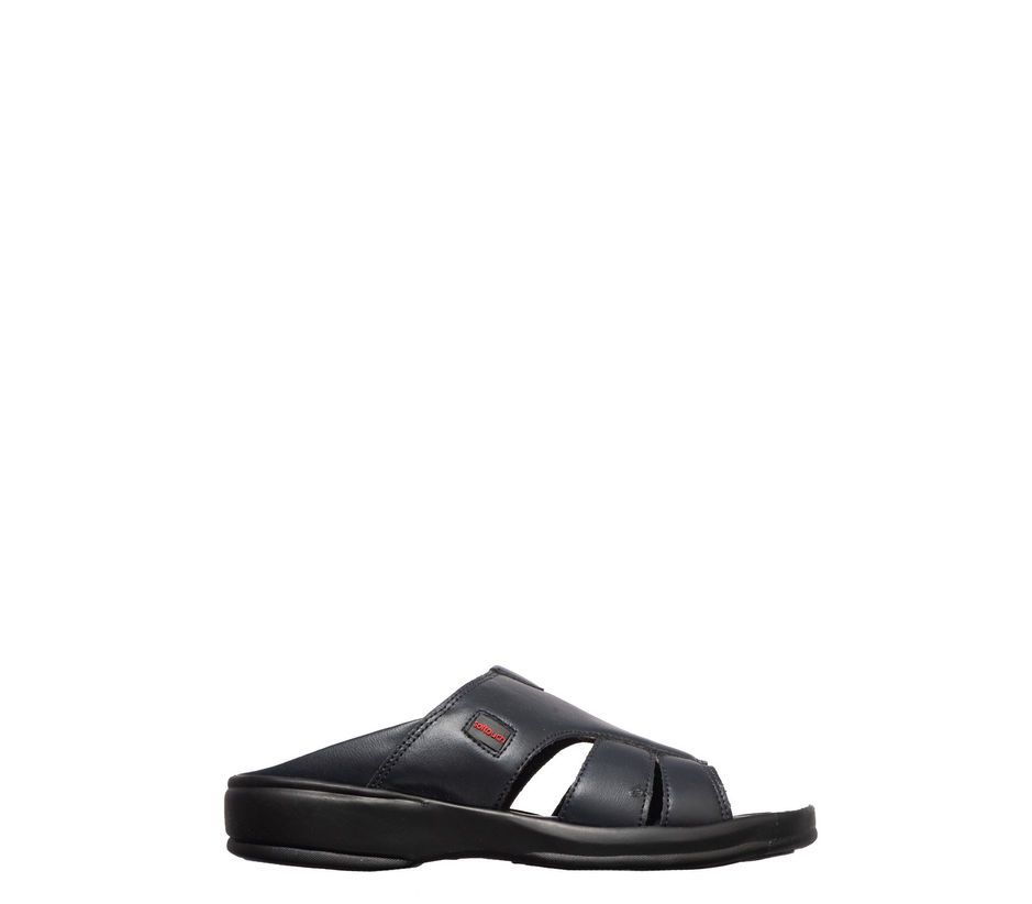Softouch Men Navy Casual Mule Sandal